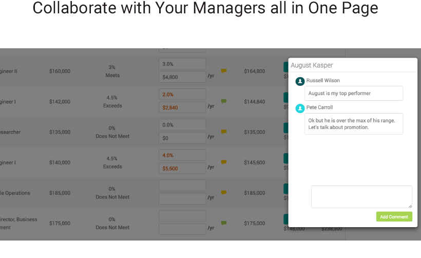 Collaborate with Your Managers all in one Page