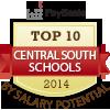 top ten central south schools