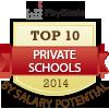top ten private schools