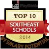 top ten southeast schools