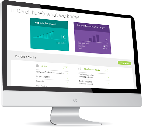 Compensation Software: Benchmark - spot job trends